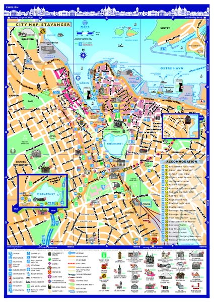 Stavanger City Map
