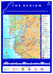 Stavanger Region Tourist Map