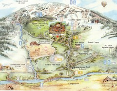 Steamboat Springs Map