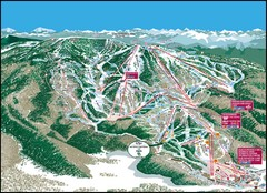 Steamboat Springs Mountain Map