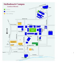 Stellenbosch Campus Map