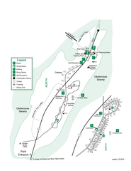 Stephen C. Foster State Park Map