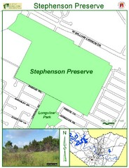Stephenson Preserve Map