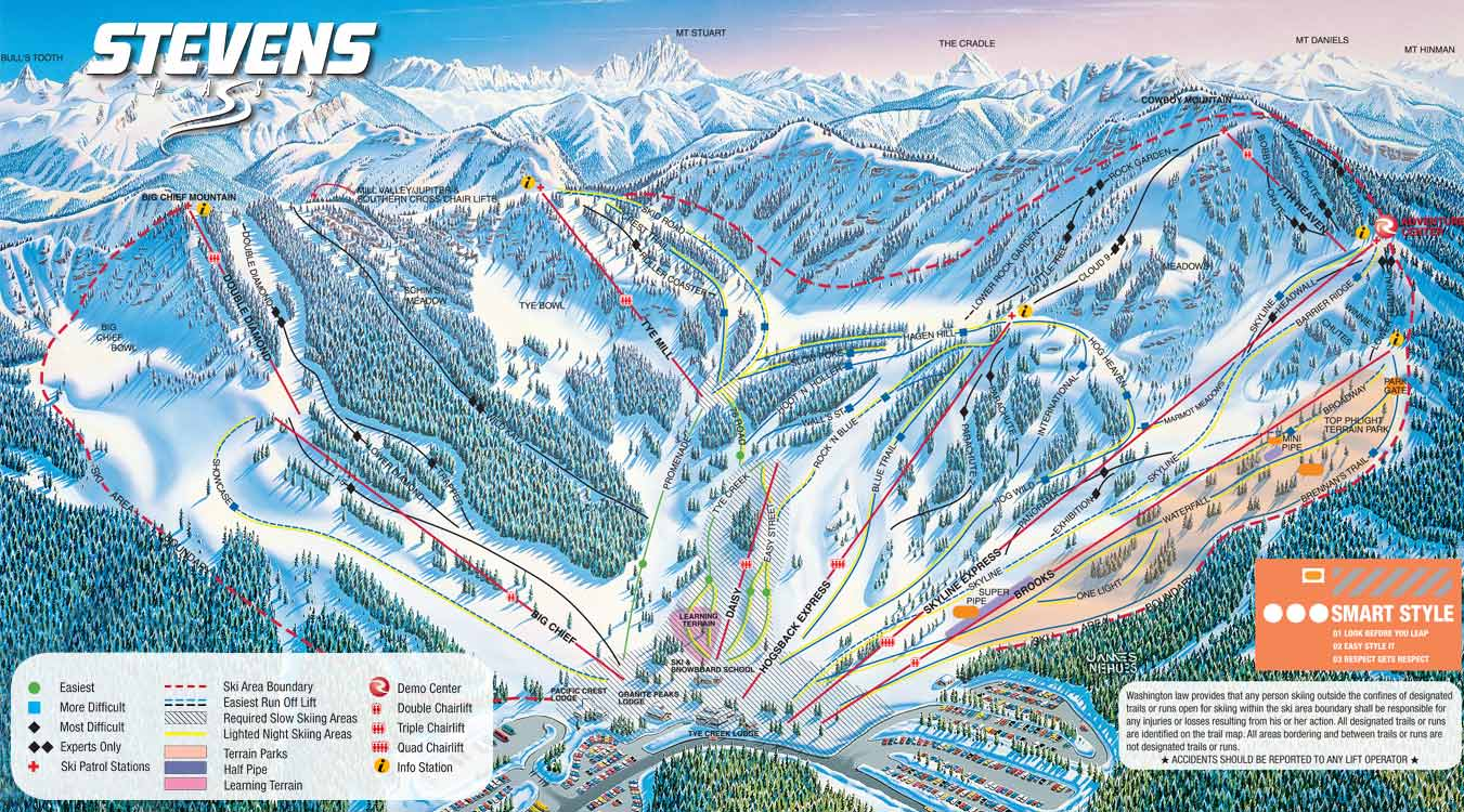 map of colorado ski areas with Stevens Pass Ski Trail Map on Piste Map furthermore Colorado Elevation Map moreover Stevens Pass Ski Trail Map as well Steamboat 20Smokehouse likewise The Best Ski Town Celebrations For New Years Eve.