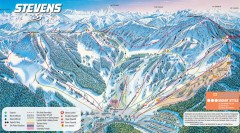 Stevens Pass Ski Trail Map