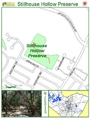 Stillhouse Hollow Preserve Map