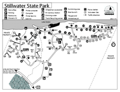 Stillwater State Park Campground Map