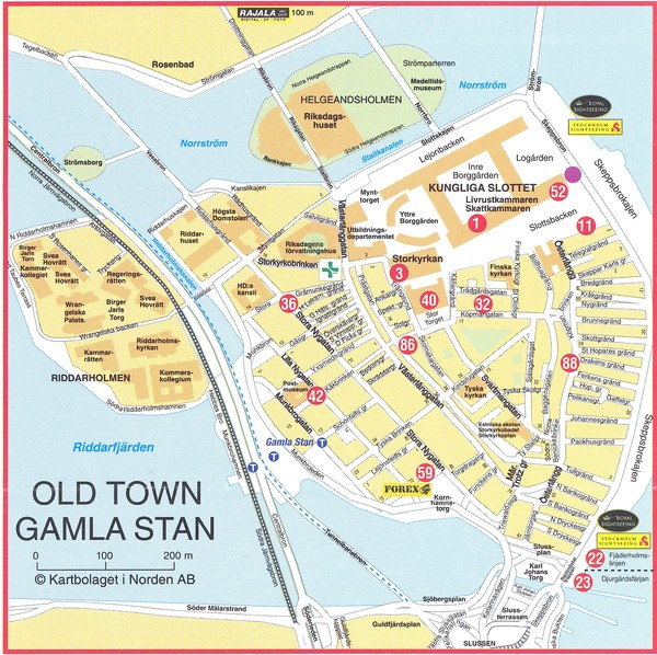 Stockholm maps mappery – Stockholm Tourist Map
