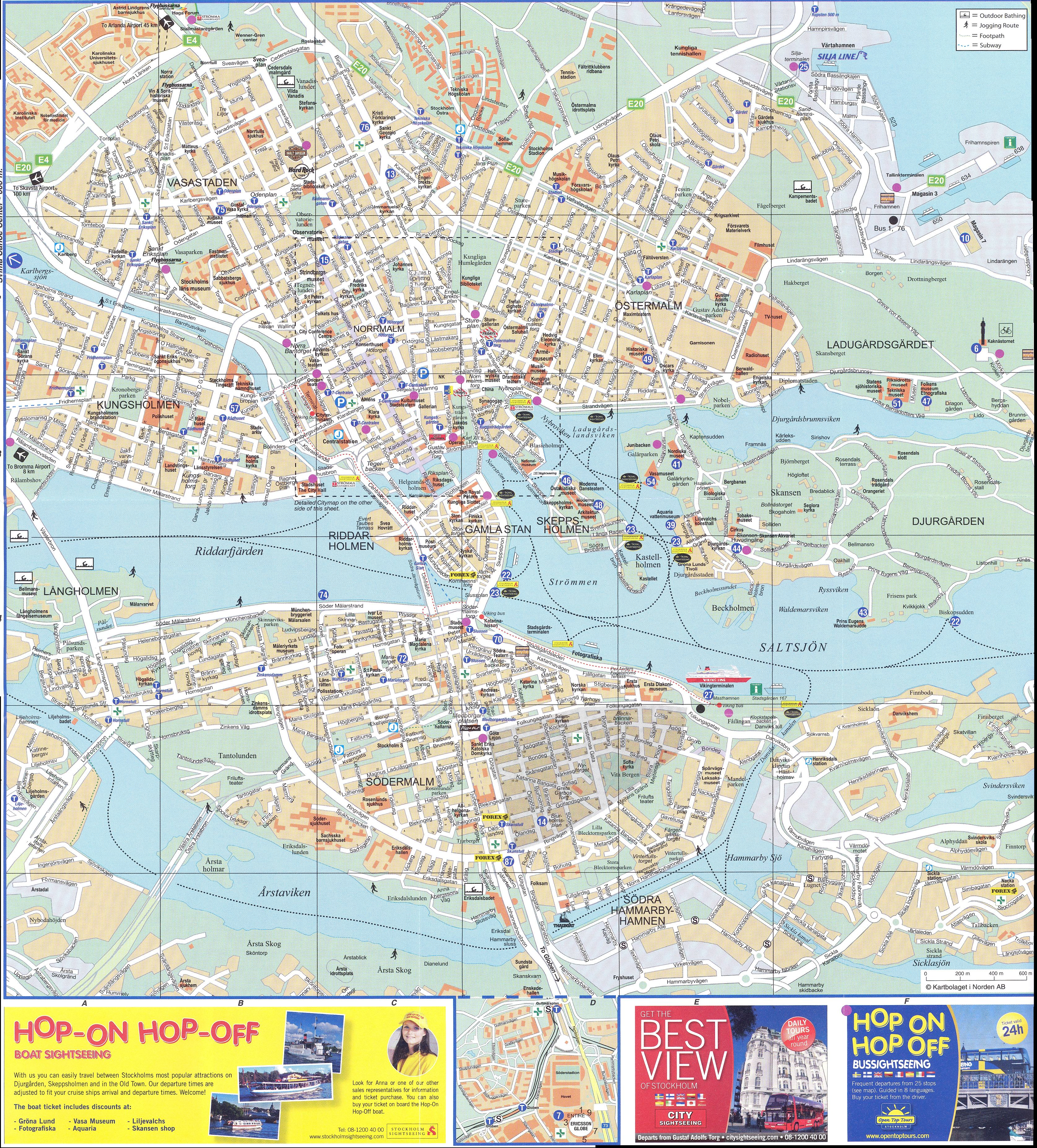 stockholm overall map  stockholm • mappery -