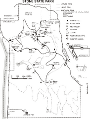 Stone State Park Map