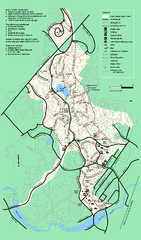 Stony Brook Reservation trail map