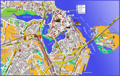 Stralsund Tourist Map