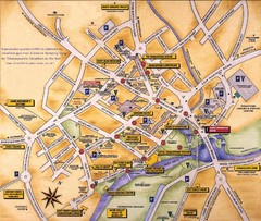 Stratford-upon-Avon Tourist Map