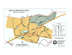 Stratton Brook State Park map