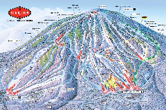 Stratton Mountain Resort Ski Trail Map