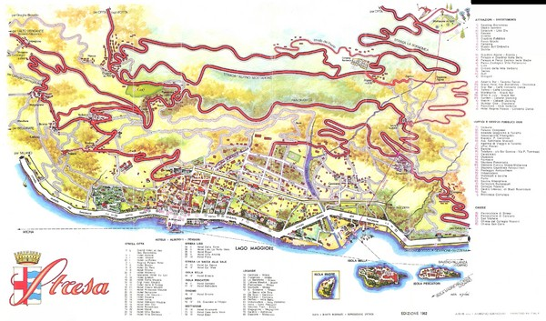 Stresa Map Stresa It Mappery
