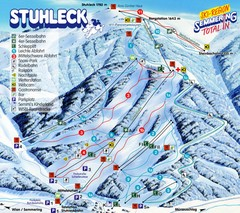 Stuhleck – Spital am Semmering Ski Trail Map