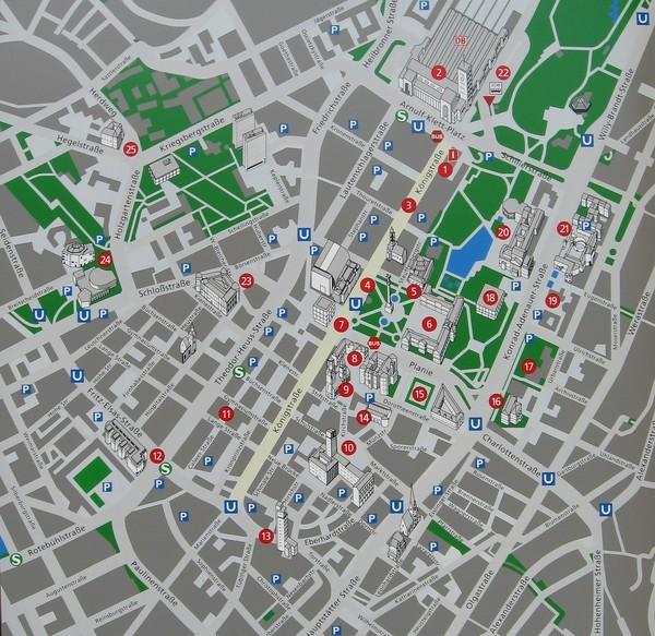 Stuttgart Tourist Map Stuttgart Germany mappery