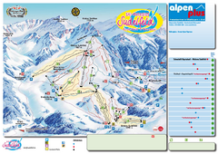 Sudelfeld Ski Trail Map