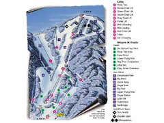 Sugar Mountain Resort Ski Trail Map