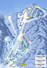 Sugar Mountain Ski Trail Map