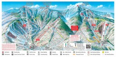 Sugarbush Resort ski trail map 2006-07