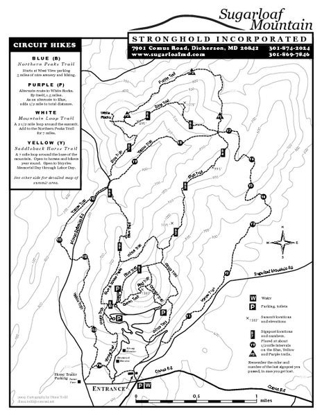 Sugarloaf Mountain Map