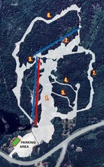 Sugarloaf Ski Hill Ski Trail Map