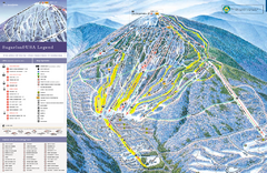 Sugarloaf Ski Trail Map