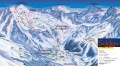 Sulden Ski Trail Map