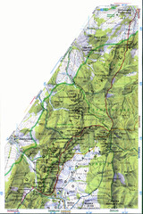 Sulovske vrchy Map