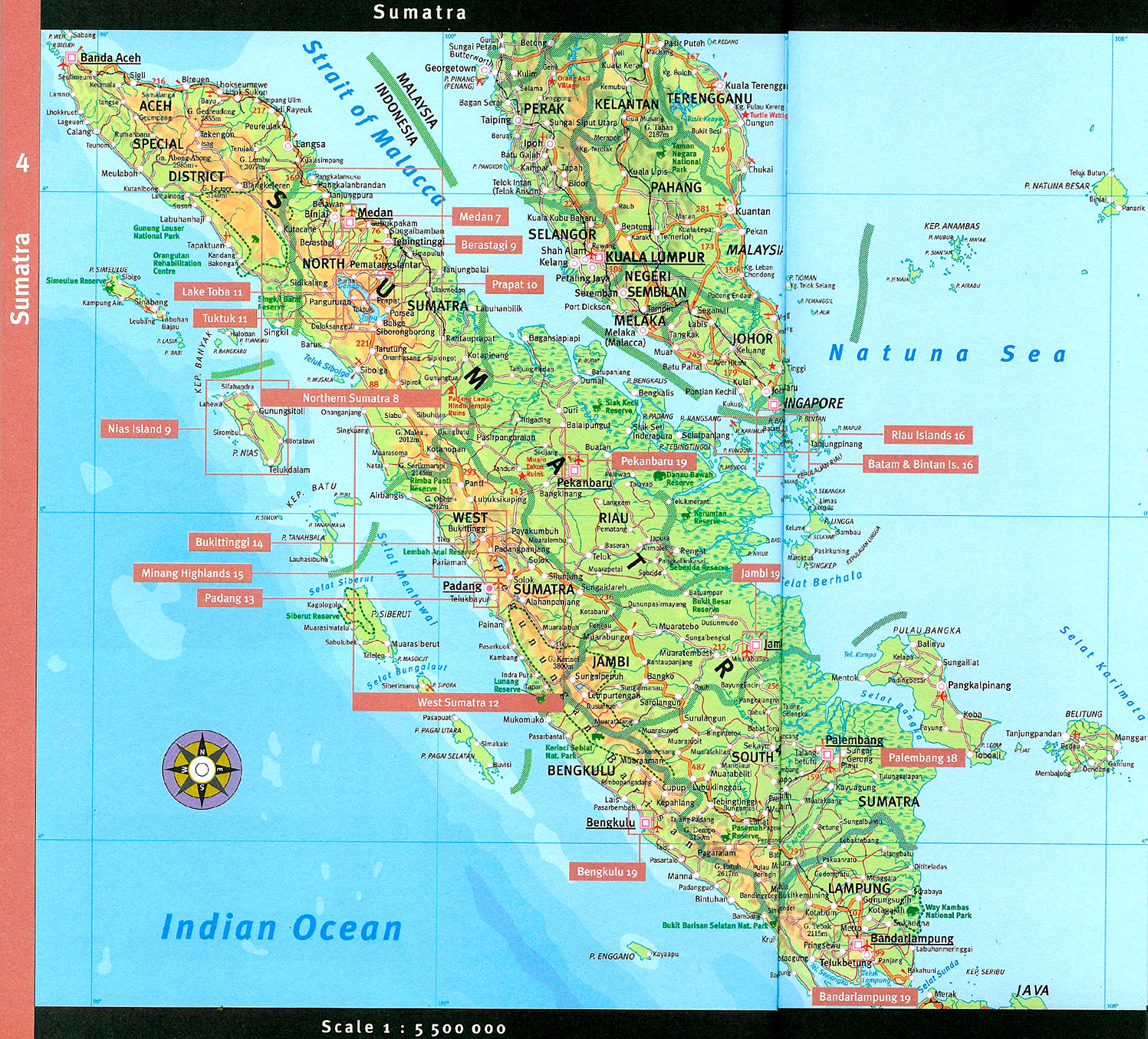 Download this Sumatra Overview Map... picture