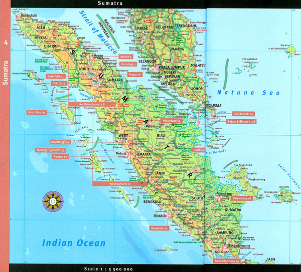 Sumatra Overview Map