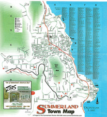 Summerland Town Map