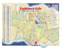 Summerside Tourist Map
