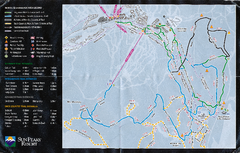 Sun Peaks Resort Nordic Ski Trail Map