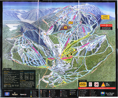 Sun Peaks Resort Ski Trail Map