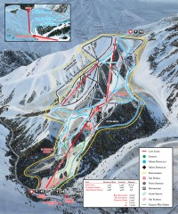 Sundance Ski Trail Map