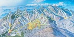 Sunday River Ski Trail map 2006-07