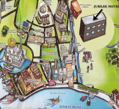 Sungai tourist Map