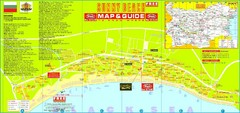 Sunny Beach Tourist Map