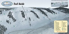Sunridge Ski Area Ski Trail Map