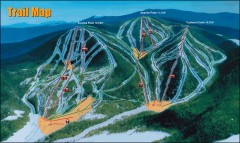 Sunrise Park Ski Trail Map
