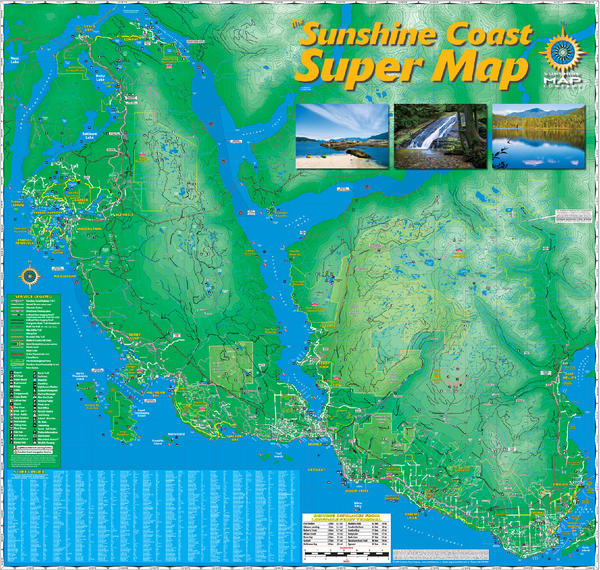 Sunshine Coast Super Map