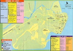 Surigao Tourist Map