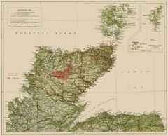 Sutherland Historical Map