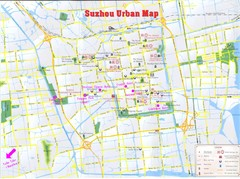 Suzhou City Map