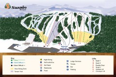 Swain Ski & Snowboard Resort Ski Trail Map