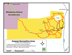 Swasey Recreation Area Map
