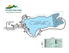 Sweitzer Lake State Park Map